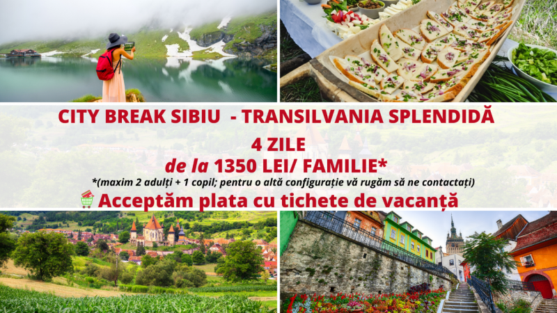 City Break Sibiu - Transilvania Splendida