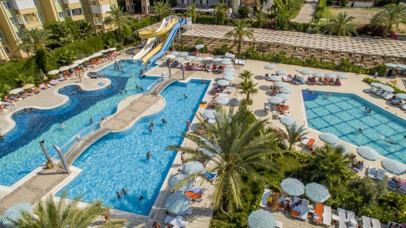 SEJUR  ANTALYA - Hedef Resort & Spa 5* - plecari Octombrie- 399 euro/ pers. ULTRA ALL INCLUSIVE